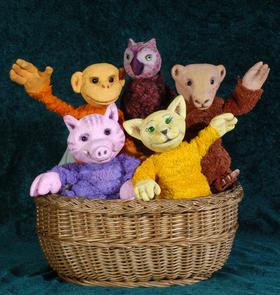 Bild: Die kleine Katze Tatze - Puppentheater Kolibri