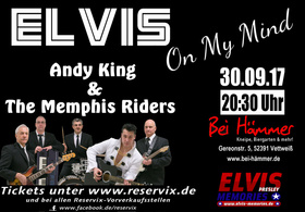 Bild: Elvis On My Mind - Tribute To Elvis