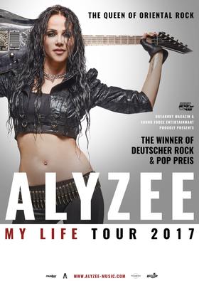 Bild: ALYZEE -My Life Tour 2017- - plus Special Guest