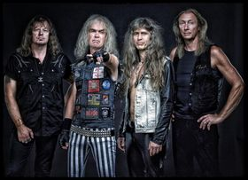 Bild: GRAVE DIGGER - ELA - Healed by Metal Tour 2017