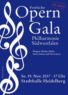 Bild: Festliche Operngala - Philharmonie Südwestfalen