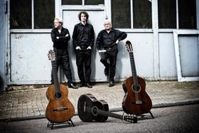 Bild: Süddeutsches Gitarrentrio - Roland Boehm, Jakob Haufler & Oliver Woog