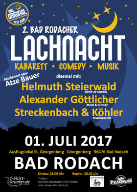 Bild: 2. Bad Rodacher Lachnacht -