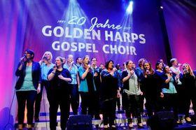 """Bild: Gospel-Konzert mit GOLDEN HARPS Gospel Choir - """"20 Jahre – 20 Konzerte"""" anlässlich des 20jährigen Bestehens von GOLDEN HARPS"""