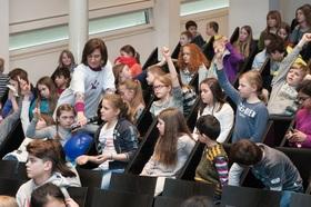 Bild: Kinder-Uni Triforce: Von der Macht der Sprache - präsentiert von MM und TECHNOSEUM