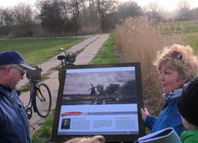 Bild: Radtour entlang des Kunstpfades Ahrenshoop