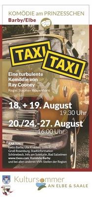 Bild: Taxi Taxi - Komödie am Prinzesschen - Eine turbulente Komödie von Ray Cooney