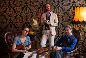 Bild: Ducktape Ticket - Groove on Strings - Das preisgekrönte groovende Streichtrio wieder Altlandsberg
