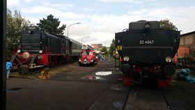 Bild: HEF Hafenbahn- Fahrtag - 15. Tag der Frankfurter Verkehrsgeschichte Abfahrten ab 15.30 (Tickets ausschließlich für den Zug auf der Hafenbahn)