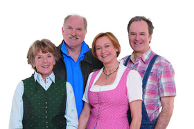 Bild: Chiemgauer Volkstheater – Mei bester Freind - mit Bernd Helfrich, Kathi Leitner, Andreas Kern, Michaela Heigenhauser u.a.