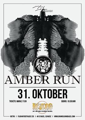Bild: AMBER RUN - Special Guest