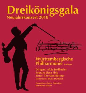 Bild: Dreikönigsgala Neujahrskonzert - Württembergische Philharmonie Reutlingen