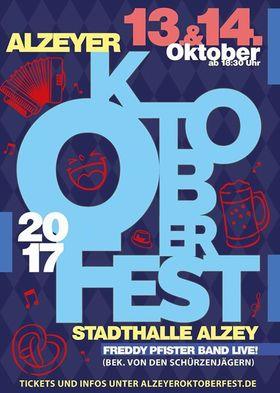 Bild: Alzeyer Oktoberfest 2017 - mit Freddy Pfister und Band