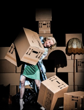 Bild: Die Dinge meiner Eltern - Schauspiel von und mit Gilla Cremer