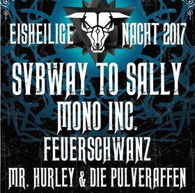 Bild: EISHEILIGE NACHT 2017 - Subway To Sally, Mono Inc., Feuerschwanz, Mr. Hurley & Die Pulveraffen