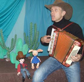 Bild: Cowboy Klaus und das pupsende Pony - Kinderveranstaltung ab 4 Jahren