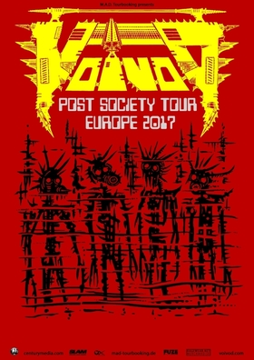 Bild: VOIVOD - Post Society Tour Europe 2017