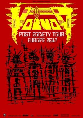 VOIVOD - Post Society Tour Europe 2017