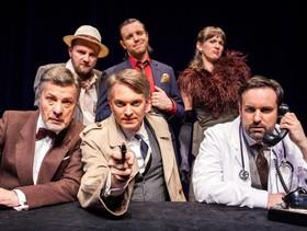 """Bild: hr2-RadioLiveTheater """"Der Hexer von London"""""""