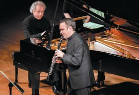Bild: Jörg Widmann, Sir András Schiff - Kammermusik in vollendester musikalischer Seelenverwandtschaft