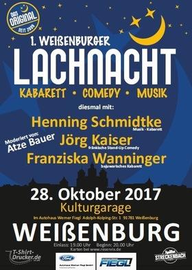 Bild: 1. Weißenburger Lachnacht - Comedy und Kabarett