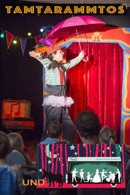 Bild: Tammtarammtos - Zirkus mit Clown Hubs im Theatron im Römerhof