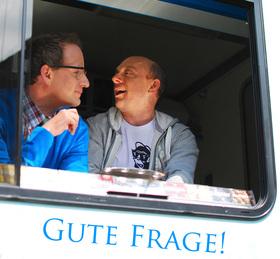 "Bild: Wigald Boning & Bernhard Hoëcker ""Gute Frage"""