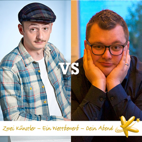 Bild: 3. Spieltag der Deutschen Kabarettmeisterschaft: Stefan Danziger vs. Sebastian Hahn