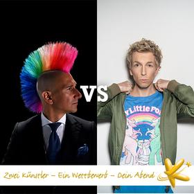 7. Spieltag der Deutschen Kabarettmeisterschaft: Andreas Thiel vs. Marcel Mann