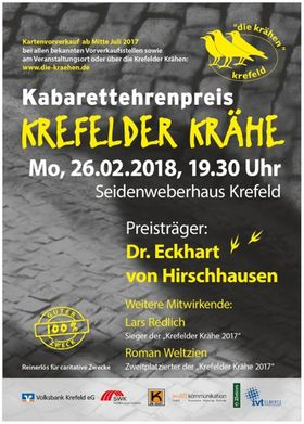Bild: Krefelder Krähe - Krefelder Krähe 2018