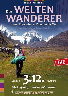 Bild: Der Weltenwanderer - 20.000 Kilometer zu Fuß