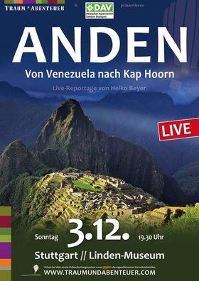 Bild: Die Anden - Von Venezuela nach Kap Hoorn