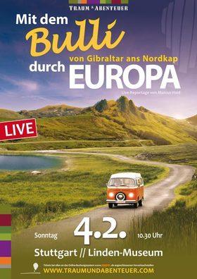 Bild: Mit dem Bulli durch Europa - Von Gibraltar ans Nordkap