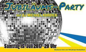 Bild: Jubiläumsparty mit Donau3FM DJ Michael Kordick