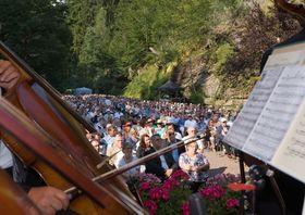 Bild: Swinging Philharmonics - Mit der Thüringen Philharmonie Gotha-Eisenach und dem Marco-Böttger-Swingtett