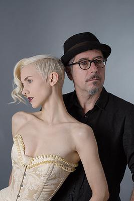 Bild: Lisa Eckhart & Sven Kemmler - Die Nymphe und der Finstere Förster