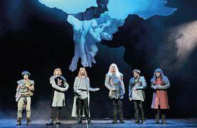 Bild: Monty Python`s Spamalot - Hessisches Landestheater Marburg