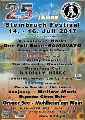 Bild: 25. Steinbruchfestival 2017 - 25. Steinbruchfestival 2017: 3-Tages-Ticket