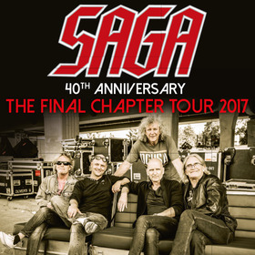 SAGA - 40th Anniversary – The Final Chapter Tour 2017