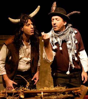 Bild: Ox und Esel - Stück von Norbert Ebel