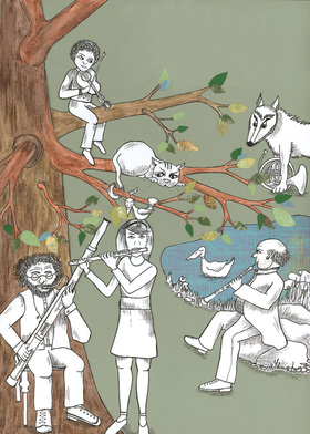 Bild: Peter und der Wolf - Kinderkonzert von Sergej Prokofjew - Theater für Niedersachsen