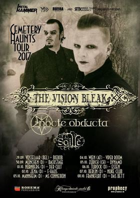 The Vision Bleak - Cemetery Haunts Tour 2017