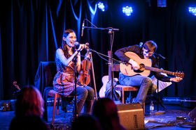 Bild: Zoë Conway & John Mc Intyre - Modern Irish Worldmusic