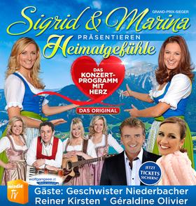 Bild: Heimatgefühle – Das Konzertprogramm mit Herz - Präsentiert von Sigrid & Marina