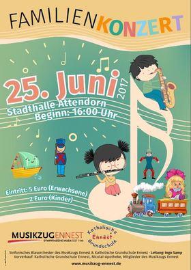 Bild: Familienkonzert - Sinfonisches Blasorchester des Musikzugs Ennest & Katholische Grundschule Ennest