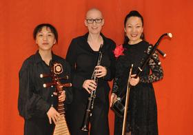 Bild: Sinogerman Sounds - Nikola Lutz, Zhenfang Zhang, Lingling Yu