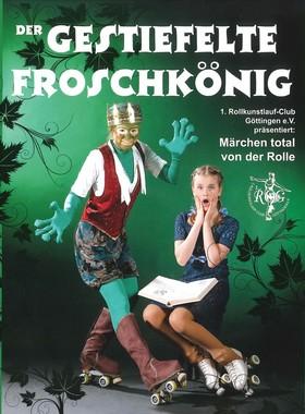 Bild: Der gestiefelte Froschkönig - 1. Rollkunstlauf-Club Göttingen