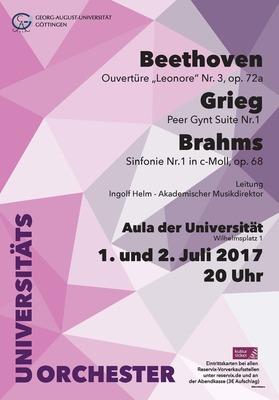 Bild: Göttinger Universitätsorchester: Sommerkonzert 2017