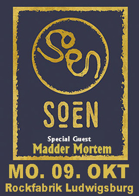 Bild: SOEN - & Special Guest Madder Mortem