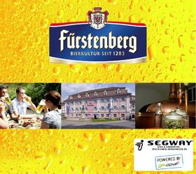 Große Segway Brauerei-Führungs-Tour bei Fürstenberg